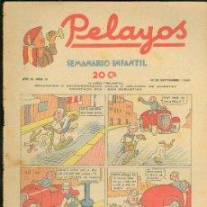 Tebeos: PELAYOS. SEMINARIO INFANTIL. Nº 91. SEPTIEMBRE 1938.. Lote 19381376