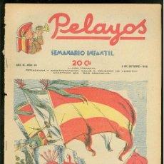 Tebeos: PELAYOS. SEMINARIO INFANTIL. Nº 93. OCTUBRE 1938.. Lote 19381383