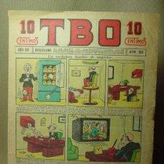 Tebeos: TBO, Nº 989, AÑO XX, BARCELONA, 10 CENTIMOS, 1936. Lote 19532703