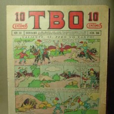Tebeos: TBO, Nº 986, AÑO XX, BARCELONA, 10 CENTIMOS, 1936. Lote 19532705