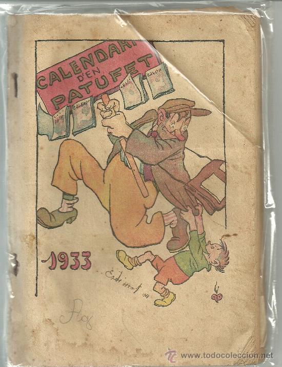 CALENDARI EN PATUFET 1933 (Tebeos y Comics - Tebeos Clásicos (Hasta 1.939))