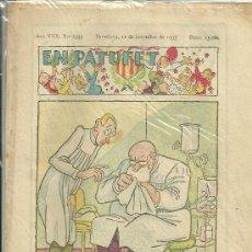 Giornalini: EN PATUFET Nº 1545 1933. Lote 19692108