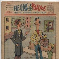 Tebeos: FLECHAS Y PELAYOS Nº 178.. Lote 20583150