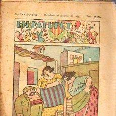 Tebeos: COMIC EN PATUFET -1933-ESCRITO EN CATALAN ANY XXX Nº 1504. Lote 36224005