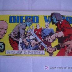 Tebeos: DIEGO VALOR. LA COLUMNA DE PRISIONEROS. Nº6, IBERCOMIC-MAM, 1986. Lote 27573159