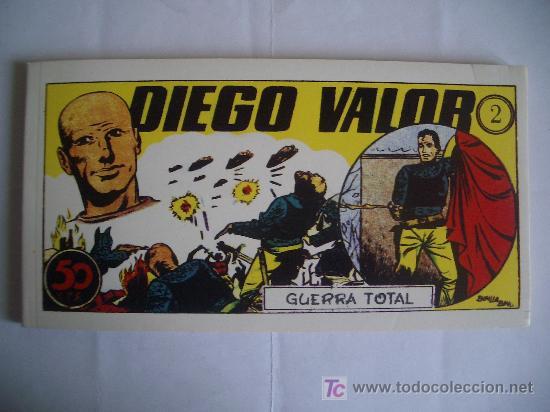 DIEGO VALOR. GUERRA TOTAL. Nº 2, IBERCOMIC-MAM, 1986 (Tebeos y Comics - Tebeos Otras Editoriales Clásicas)