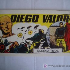 Tebeos: DIEGO VALOR. GUERRA TOTAL. Nº 2, IBERCOMIC-MAM, 1986. Lote 24345629