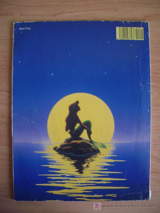 Tebeos: LA SIRENITA, PRIMAVERA. WALT DISNEY, 1990. LITERACOMIC. - Foto 2 - 26475290