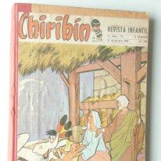 Tebeos: CHIRIBIN 19 EJEMPLARES ENCUADERNADOS ALBUM 1967 COMPLETO. Lote 27548848