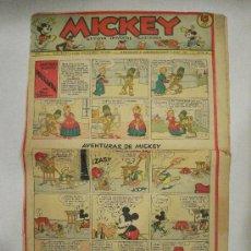 Tebeos: MICKEY. REVISTA INFANTIL ILUSTRADA. AÑO I. 1935. Nº 28.. Lote 21688355