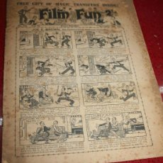 Tebeos: FILM FUN - Nº 724 -VOL.14 - EVERY TUESDAY - DECEMBER 2ND 1933 - EN INGLÉS. Lote 21897868