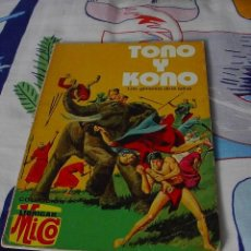 Tebeos: TOÑO Y KONO III, LOS GEMELOS DE LA SELVA, COLECCION MICO LIBRIGAR, FHER,1976. Lote 22082571