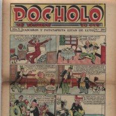 Tebeos: POCHOLO Nº 209. S. VIVES 1930.. Lote 22420188