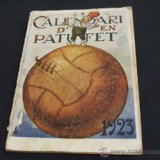 Tebeos: CALENDARI D'EN PATUFET - ANY 1923 -. Lote 22677969