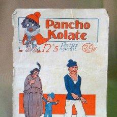 Tebeos: REVISTA INFANTIL, Nº 5, PANCHO KOLATE, 1923, MUY ANTIGUA. Lote 22954537
