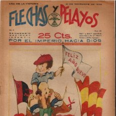 Tebeos: FLECHAS Y PELAYOS Nº56 AÑO 1939. Lote 22962953