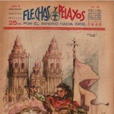 Tebeos: FLECHAS Y PELAYOS Nº85 AÑO 1939. Lote 22963532