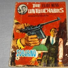 Tebeos: THE ELIOT NESS UNTOUCHABLES Nº 2. EDITORIAL ARTFI 1966. 8 PTS.. Lote 23014470