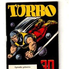 Tebeos: TURBO. 3D. Nº1- 34 ILUSTRACIONES TRIDIMENSIONALES A PAGINA COMPLETA. INCLUYE LAS GAFAS, JOSE LAFFOND. Lote 191725577