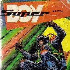 Tebeos: SUPER BOY EXTRA - ED.BOIXHER 1968 (RETAPADO-Nº 9,11,12 DE SUPER BOY Y Nº 6 DE C.P.L.). Lote 23564717