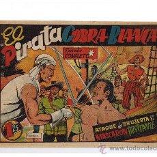 Tebeos: EL PIRATA COBRA BLANCA Nº 8. CIES 1949.. Lote 23687770