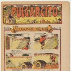 Tebeos: PULGARCITO Nº 250. EL GATO NEGRO 1921.. Lote 23773452