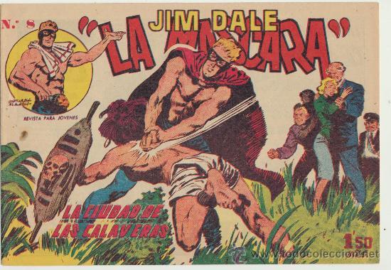 JIM DALE,LA MÁSCARA Nº 8. CREO. SIN ABRIR (Tebeos y Comics - Tebeos Otras Editoriales Clásicas)