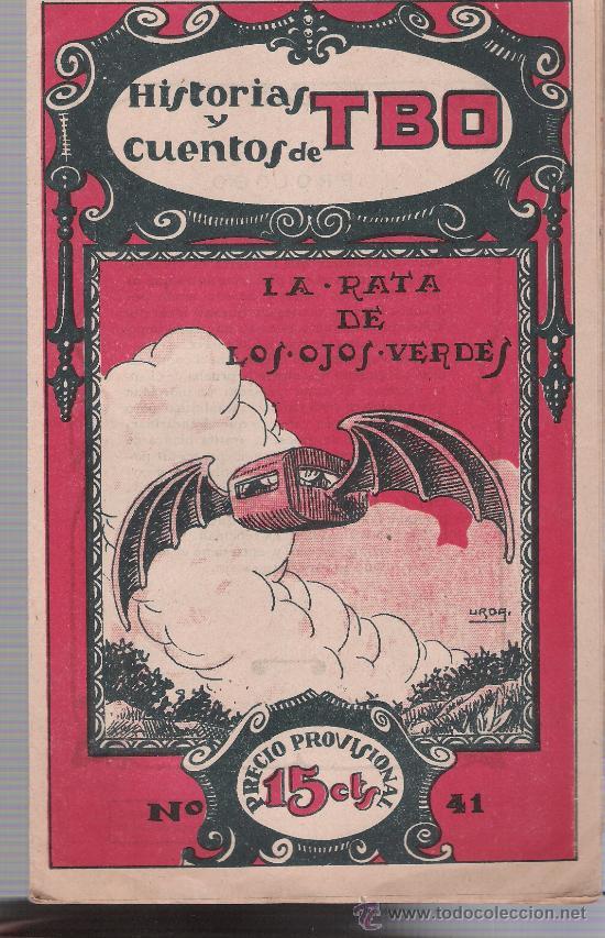 HISTORIAS Y CUENTOS DE TBO Nº 41. BUIGAS 1919. (Tebeos y Comics - Tebeos Clásicos (Hasta 1.939))