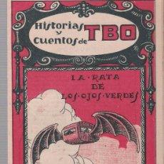 Tebeos: HISTORIAS Y CUENTOS DE TBO Nº 41. BUIGAS 1919.. Lote 23932883