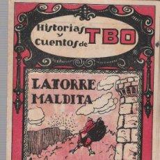 Tebeos: HISTORIAS Y CUENTOS DE TBO Nº 65. BUIGAS 1919.. Lote 23932889