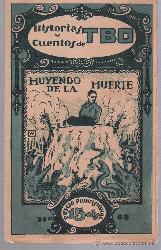 HISTORIAS Y CUENTOS DE TBO Nº 63. BUIGAS 1919. (Tebeos y Comics - Tebeos Clásicos (Hasta 1.939))