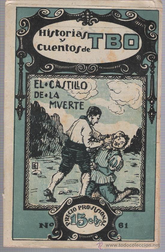 HISTORIAS Y CUENTOS DE TBO Nº 61. BUIGAS 1919. (Tebeos y Comics - Tebeos Clásicos (Hasta 1.939))