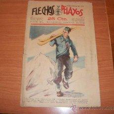 Tebeos: FLECHAS Y PELAYOS Nº 6 ORIGINAL 1939. Lote 26900058