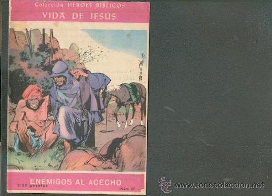 COLECCIÓN HEROES BIBLICOS Nº 37, EDICIONES DOMINGO SAVIO (Tebeos y Comics - Tebeos Otras Editoriales Clásicas)