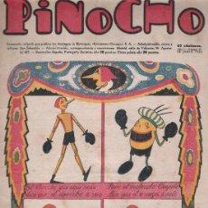 Tebeos: PINOCHO Nº 19. EDITORIAL CALLEJA 1925.. Lote 24460180