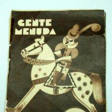 Tebeos: GENTE MENUDA SUPLEMENTO INFANTIL BLANCO Y NEGRO 13 MARZO 1932. Lote 24760637