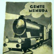 Tebeos: GENTE MENUDA SUPLEMENTO INFANTIL BLANCO Y NEGRO 5 JUNIO 1932. Lote 24760917