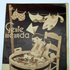 Tebeos: GENTE MENUDA SUPLEMENTO INFANTIL BLANCO Y NEGRO 11 SEPTIEMBRE 1932. Lote 24761195
