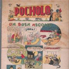 Tebeos: POCHOLO Nº 162. S. VIVES 1930. CON DIBUJOS DE C. ARNAL.. Lote 206223286