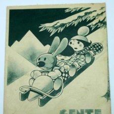 Tebeos: GENTE MENUDA SUPLEMENTO INFANTIL BLANCO Y NEGRO 2 FEBRERO 1936. Lote 24776618