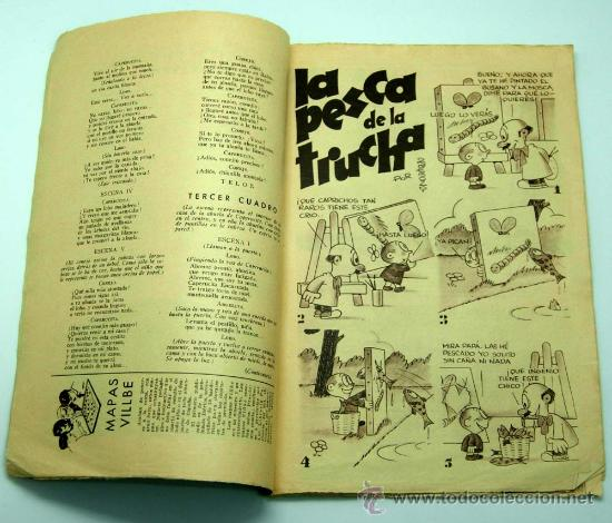 Tebeos: Gente menuda Suplemento Infantil Blanco y Negro 10 mayo 1936 - Foto 2 - 24776915