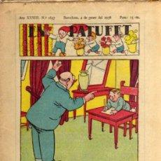 Tebeos: EN PATUFET - BARCELONA. 4 GENER 1936 - ANY XXXIII - Nº 1657 - EN CATALÁN. Lote 25982362