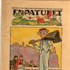 Tebeos: EN PATUFET - BARCELONA. 10 JULIOL 1926 - ANY XXIII - Nº 1162 - EN CATALÁN. Lote 25984708