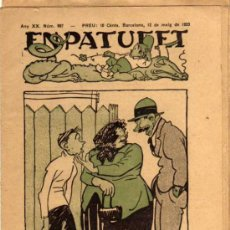 Tebeos: EN PATUFET - BARCELONA. 12 MAIG 1923 - ANY XX - Nº 997 - EN CATALÁN. Lote 25985422