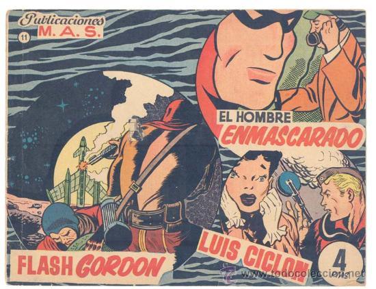 PUBLICACIONES M.A.S. Nº.11 (Tebeos y Comics - Tebeos Otras Editoriales Clásicas)