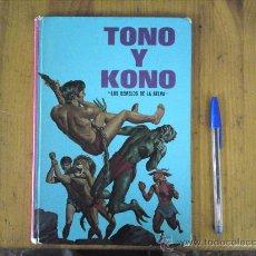 Tebeos: TONO Y KONO. COLECCION PUBLIGAR Nº3 LOS GEMELOS DE LA SELVA 1975. Lote 26981512