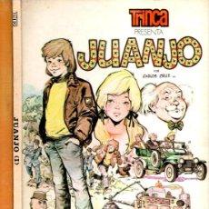 Tebeos: TRINCA ALBUM TAPA DURA Nº 23, JUANJO POR CARLOS CRUZ, EDI. DONCEL 1974. Lote 27180342