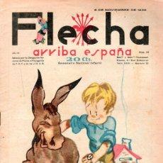Tebeos: FLECHA. NOVIEMBRE 1938 - NUMERO 94. NUEVO SIN LEER. Lote 161723017