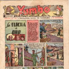 Tebeos: YUMBO - Nº 151 - HISPANO AMERICANA - ORIGINAL - AÑO 1937.. Lote 27196846