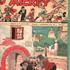 Tebeos: MICKEY. REVISTA INFANTIL ILUSTRADA - AÑO II NUMERO 65, MAYO 1936 . Lote 27213547